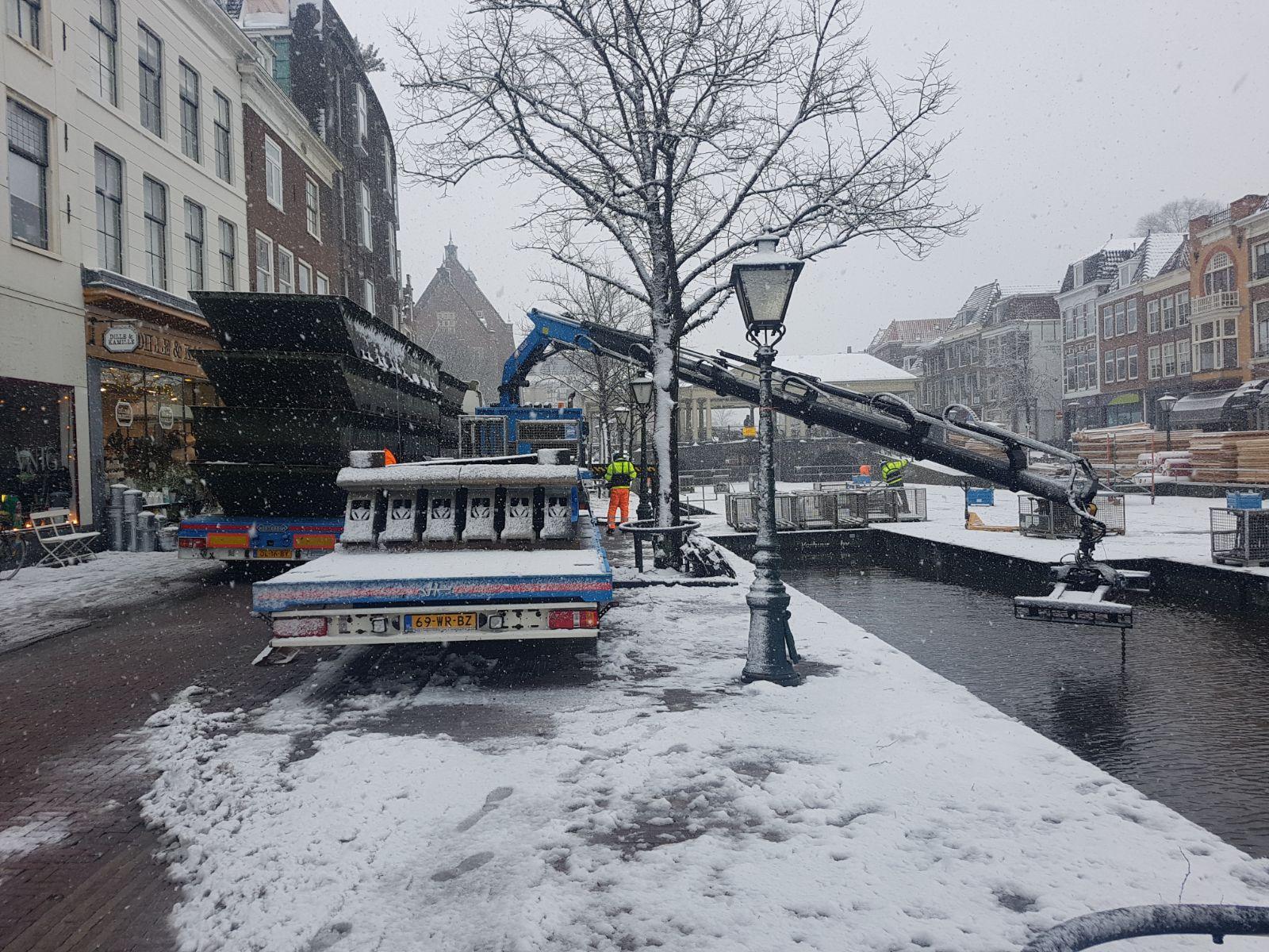 Opbouw Kerstmarkt Begonnen Op Nieuwe Rijn Sleutelstad Nl