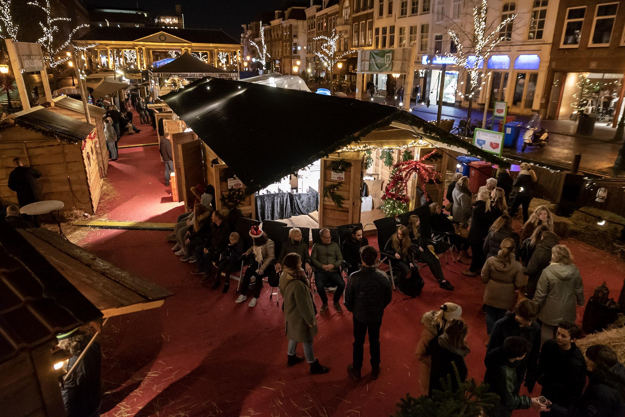 Morgen Laatste Dag Voor Drijvende Kerstmarkt In Leiden Sleutelstad Nl