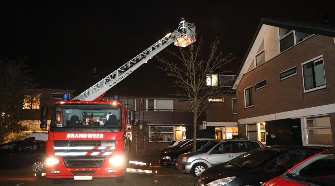 Brandweer rukt uit voor brand in afzuigpijp bij