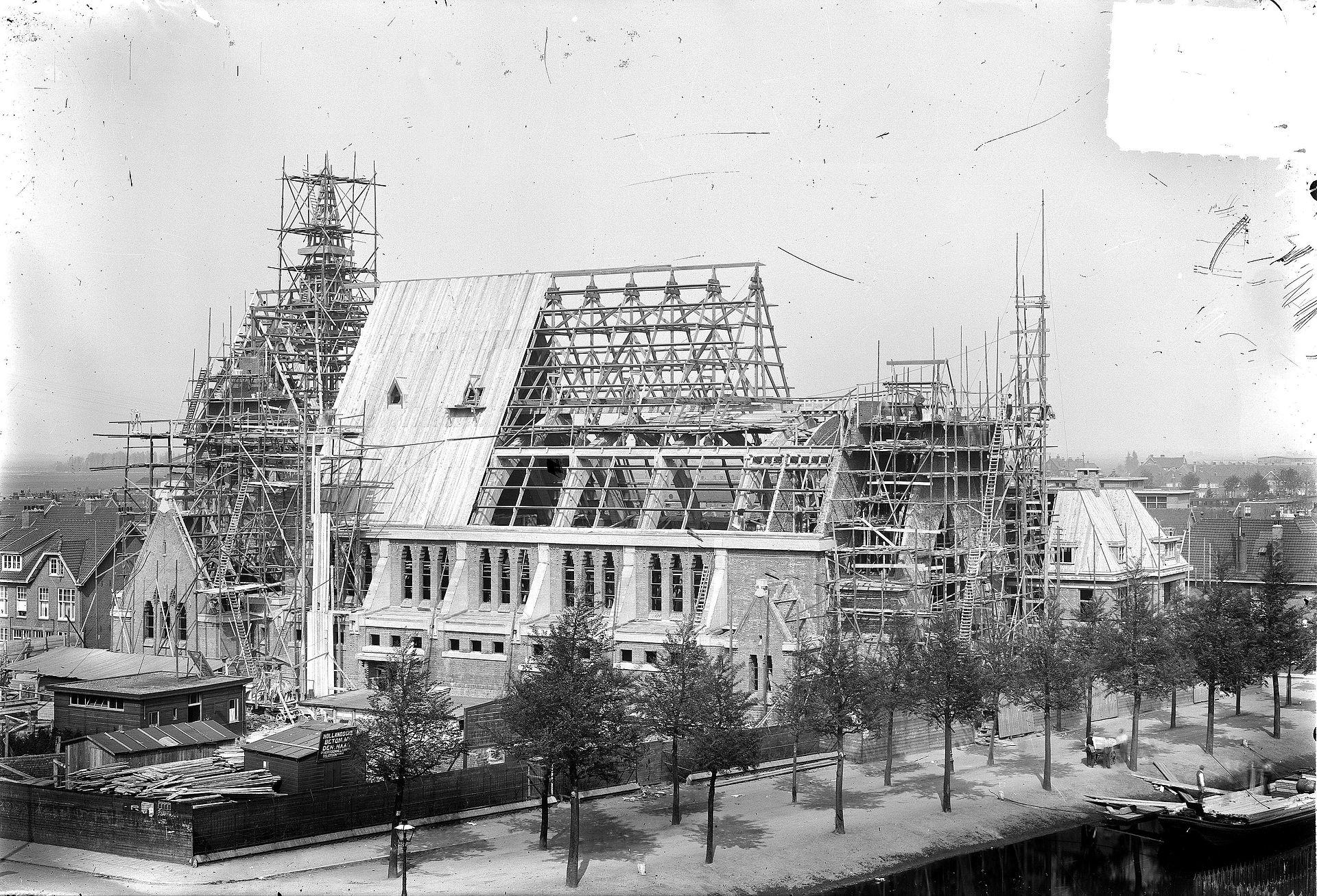 Bouw van de St Josephkerk